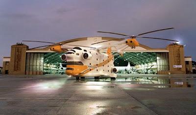 Hotelicopter um hotel voador cinco estrelas