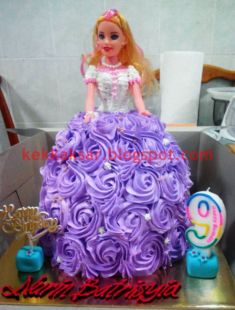 DOLL with Roses Skirt