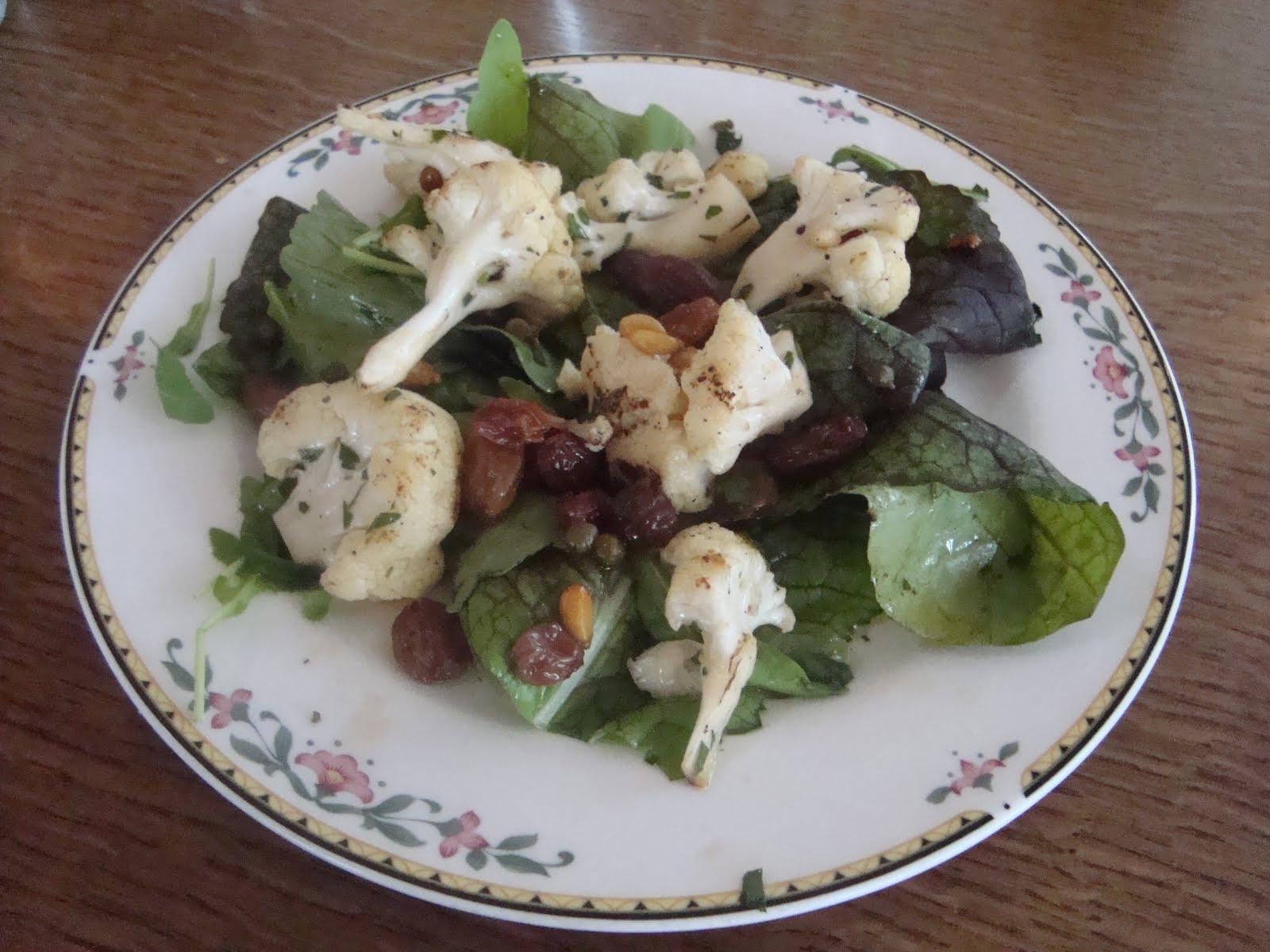 Cauliflower And Pine Nut Salad