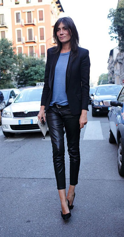 Backwards In High Heels Lubi Jej Styl Emmanuelle Alt