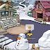 Esculturas de neve chegando a ilha ?