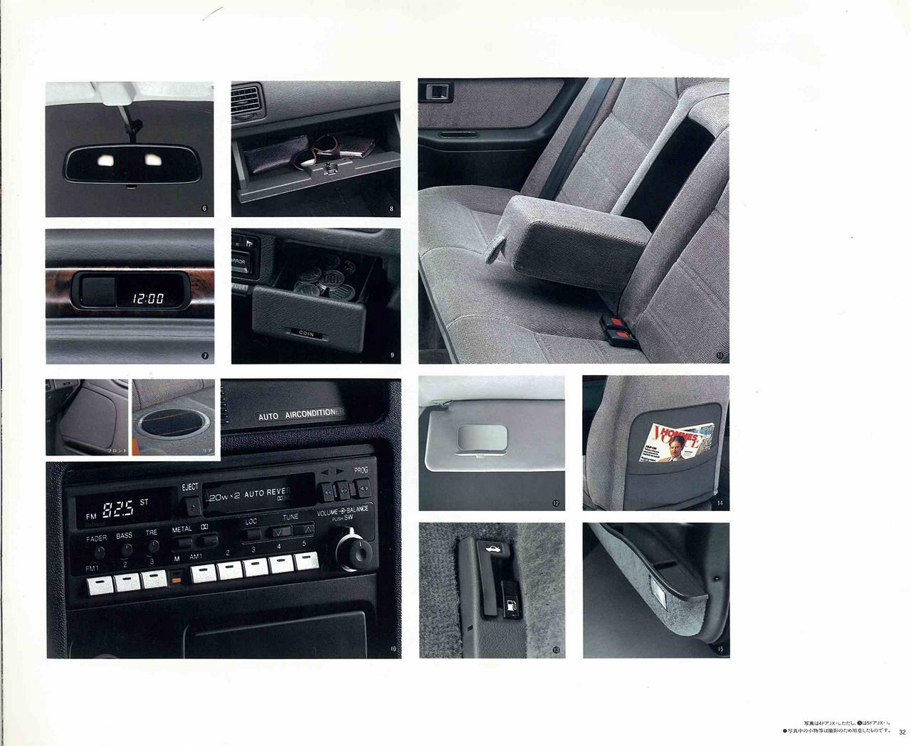 Honda Concerto, opcje, wyposażenie, wnętrze, sedany z lat 90