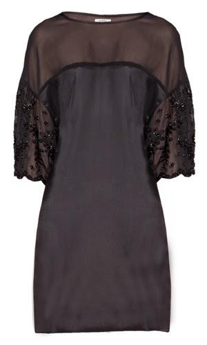 vestido negro fiesta Poète
