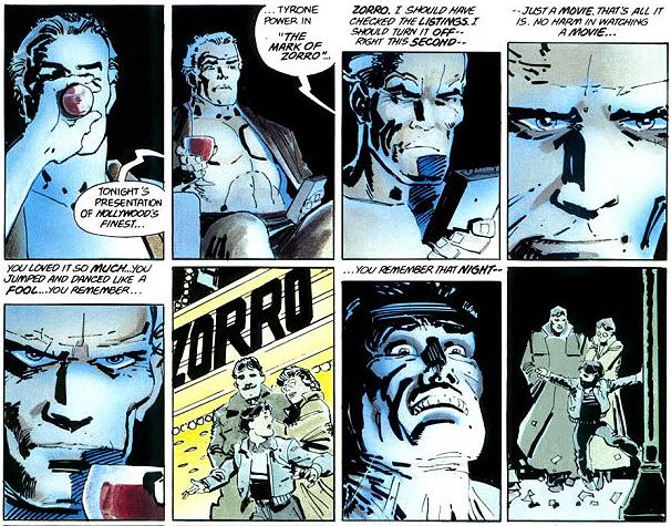 joker two face gun scene meet
