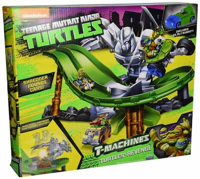 JUGUETES - Las Tortugas Ninja | Teenage Mutant Ninja Turtles  T-Machines - Turtles Revenge  Toys | Producto Oficial Serie Televisión Nickelodeon 2015  Playmates 97960 | A partir de 3 años