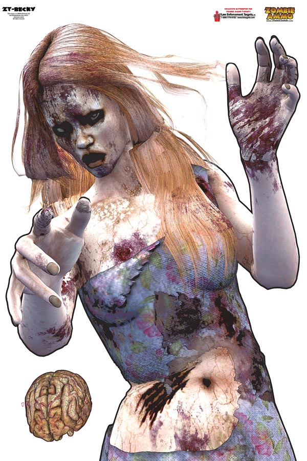 Printable Zombie Shooting Target Other targets