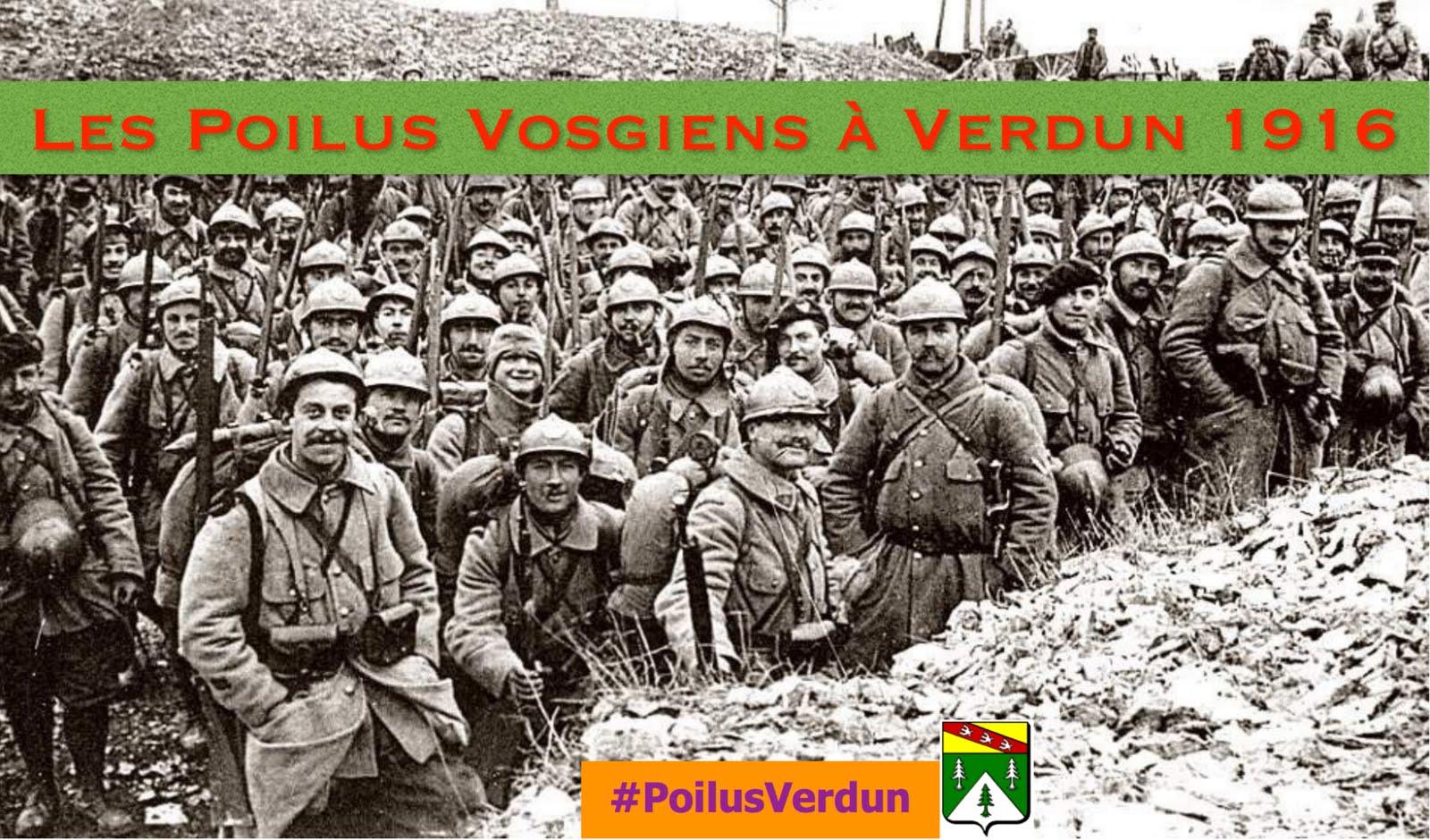 Les Poilus Vosgiens à Verdun 1916