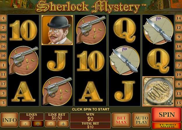 Play Sherlock Mystery Slots Online at Casino.com Canada