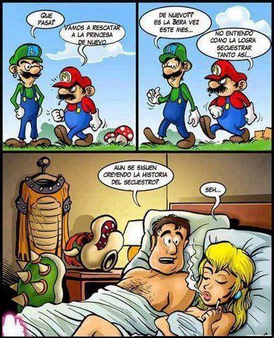 Super Mario Cornudo humor