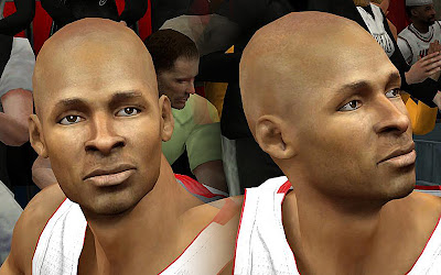 NBA 2K13 Ray Allen Cyberface Mod