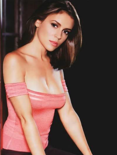 Alyssa milano sexy interview