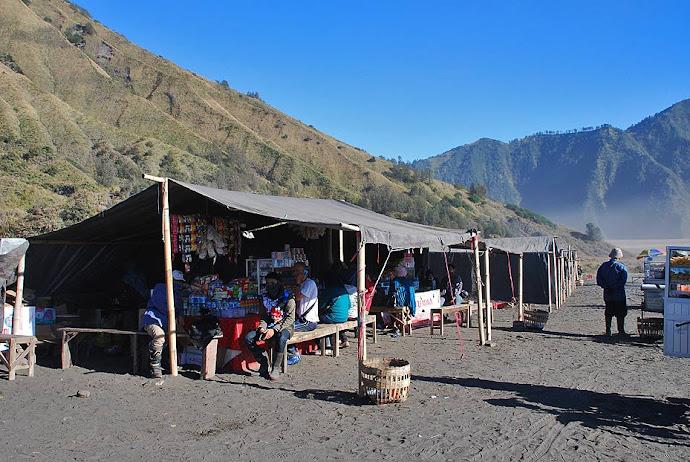 Restaurante en el volcán
