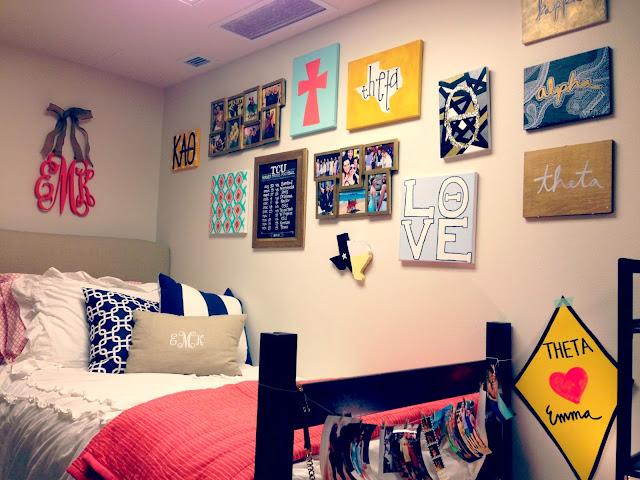 My College Dorm Tour! - Seekingthesouthblog.blogspot.com