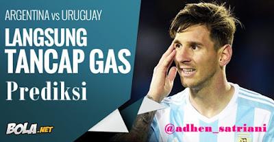 Prediksi Argentina vs Uruguay Rabu 17 Juni 2015