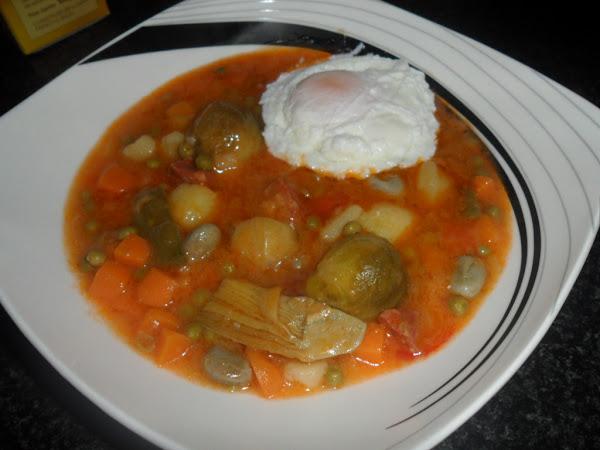Coles de bruselas con jamon cocinar en casa es - Cocinar coles de bruselas ...
