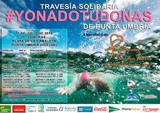 Travesía Solidaria # YonadoTudonas de Punta Umbría