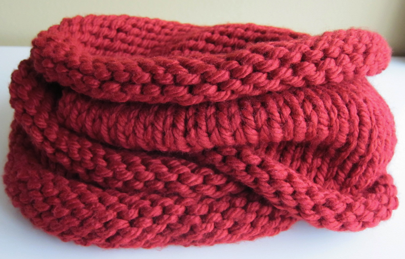 Purllin: Jenny From the Block Circle Scarf Pattern