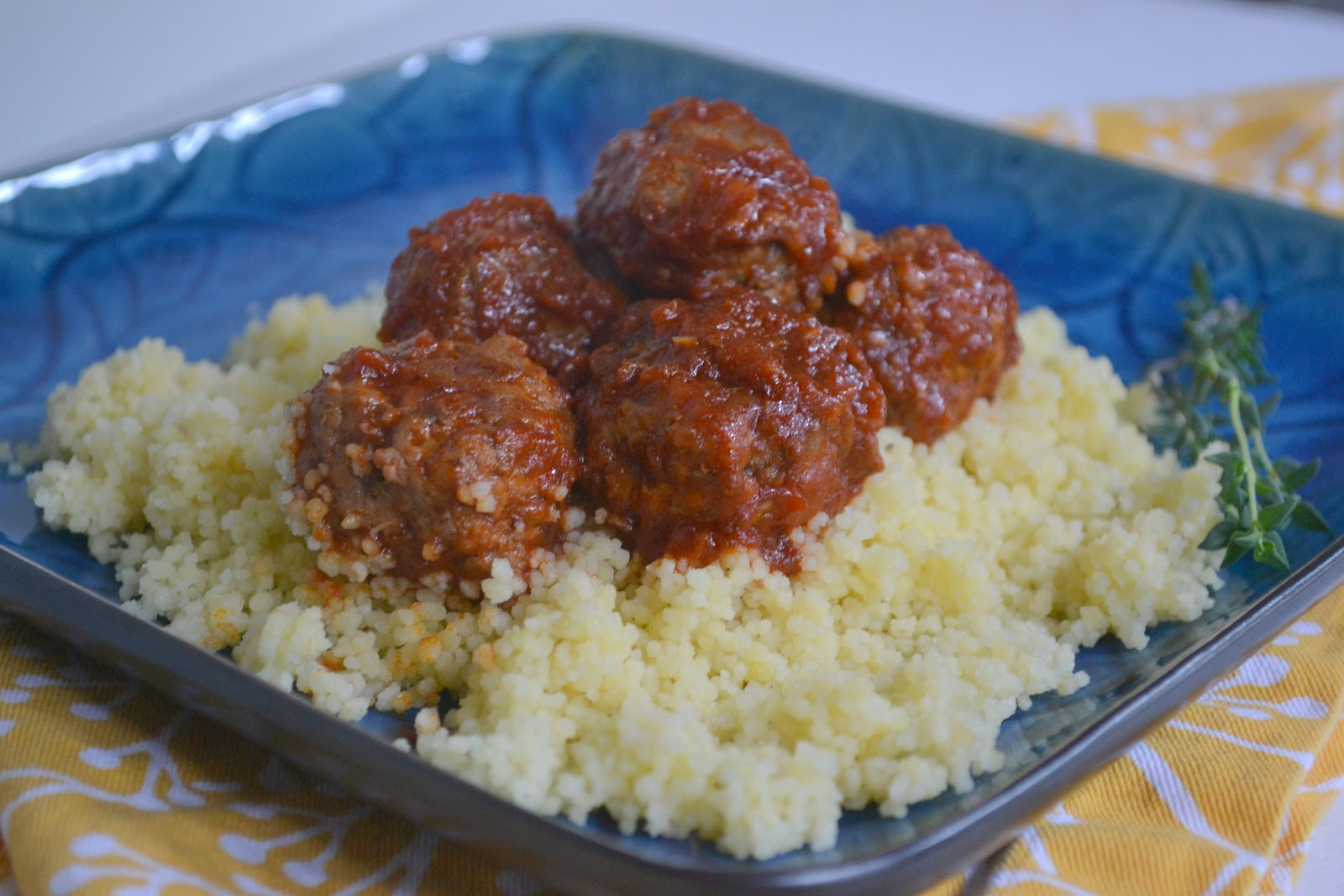 Moroccan Meatballs Recipe — Dishmaps