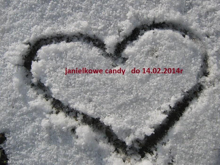 zimowo - walentynkowe   candy