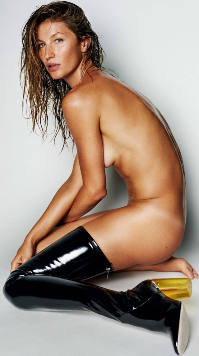 Gisele Bundchen en Vogue Magazine