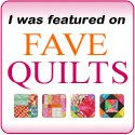As seen on Fave Quilts