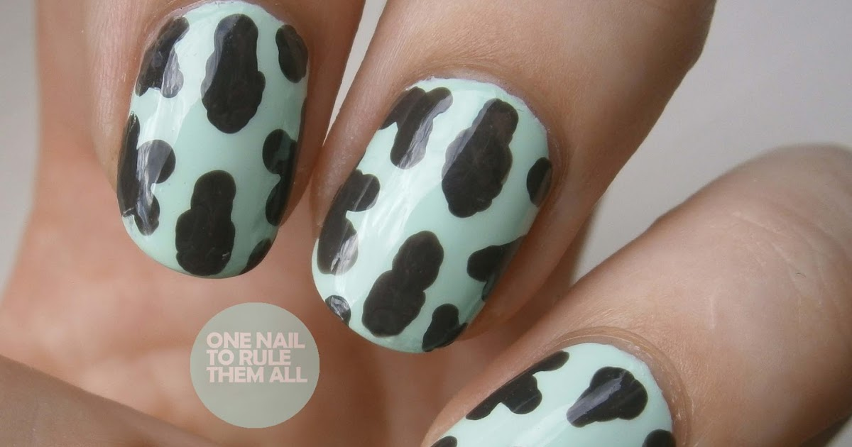 One Nail To Rule Them All: Day 13: Animal Print
