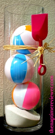 beach ball party decorations