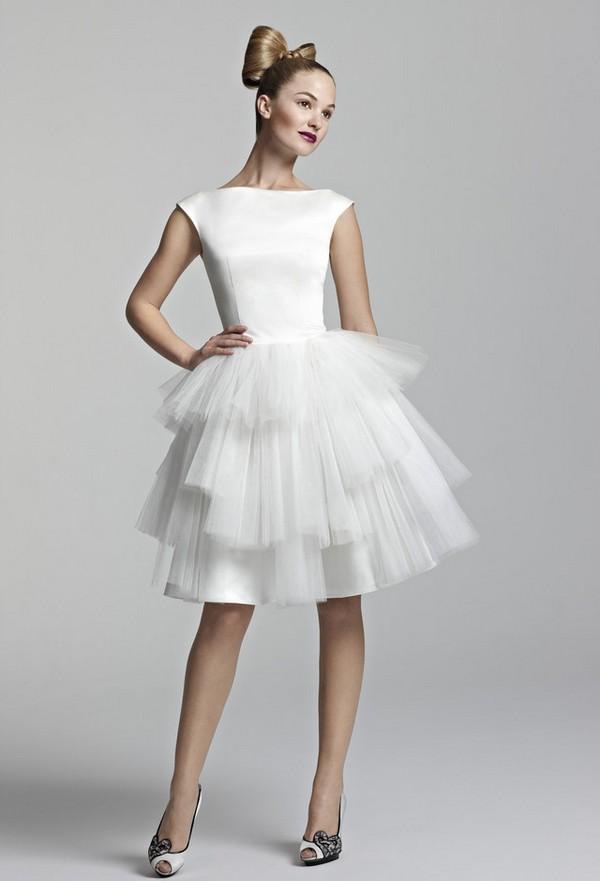 Short wedding dresses 2012 wedding dresses for Short white wedding dress