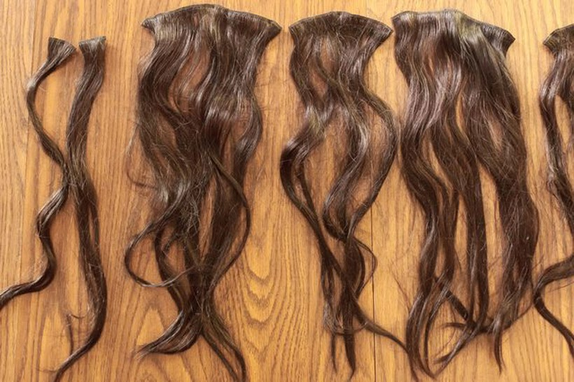 Clip N Go Hair Extensions Triple Weft Hair Extensions