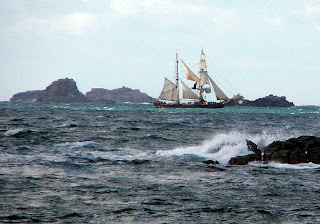 Tres Hombres scilly islands - by Mike