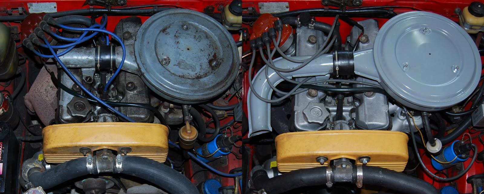 1971 Engine Rebuild Complete Fiat 124 Sport Spider