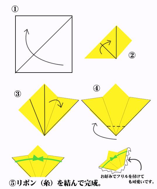 ハート 折り紙 七夕の折り紙 折り方 : studental.net