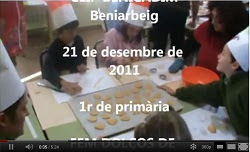 En 1r de primària fan galetes de nadal