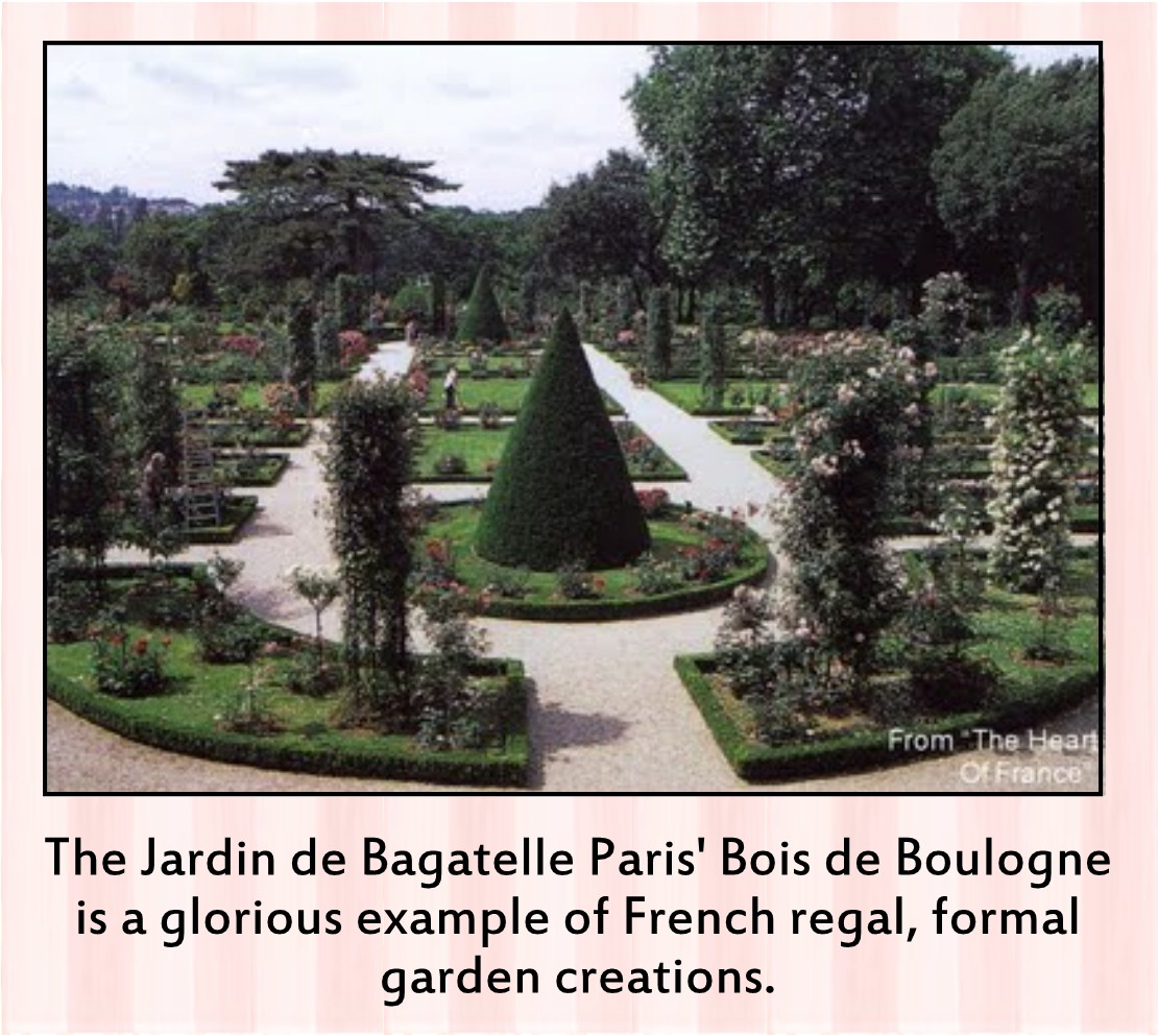 Something beautiful journal how to do french style homes Jardin bagatelle