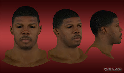NBA 2K13 Joe Johnson Cyberface Mod