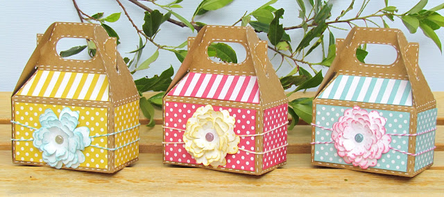 Garden Party Gable Box Favors