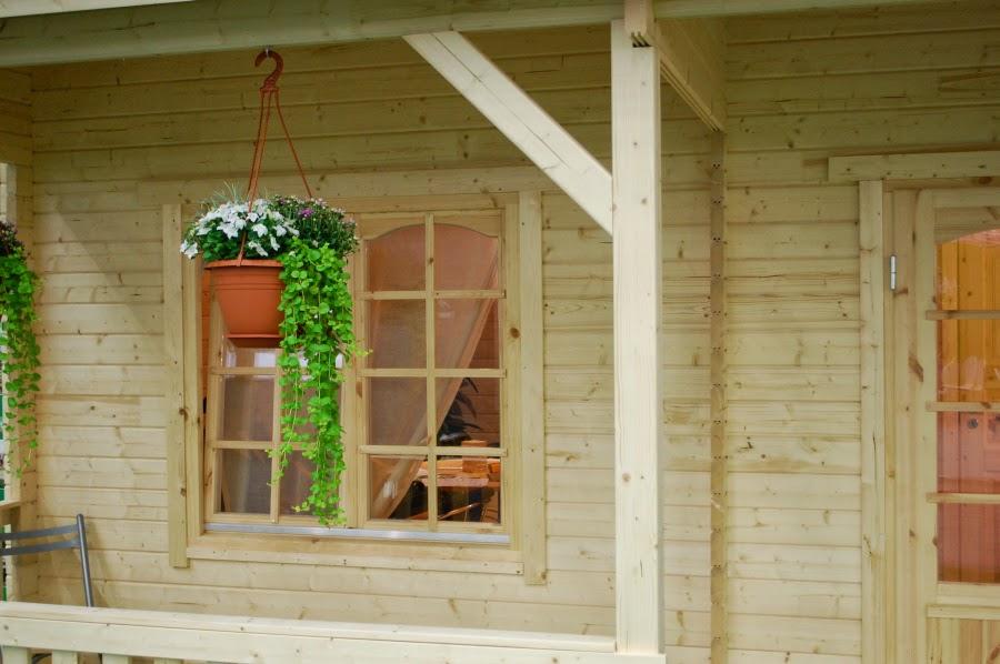 Casas de madera baratas bungalow de madera wendy - Casetas jardin baratas ...