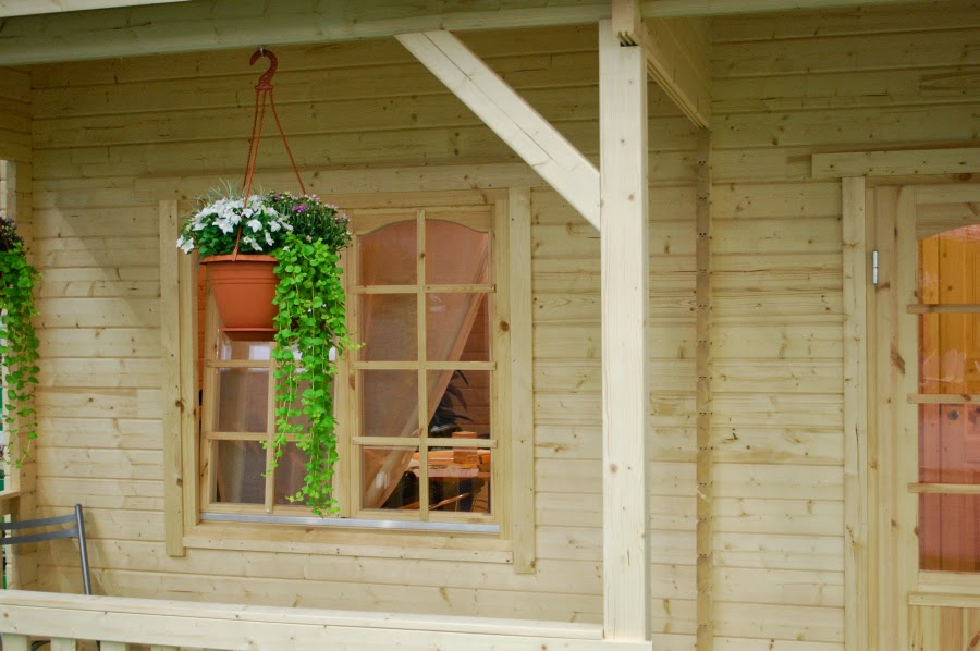 Casas de madera baratas bungalow de madera wendy - Caseta jardin barata ...