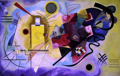 Vasily Kandinsky: Amarillo, Rojo y Azul