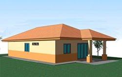 Design Rumah Mesra Rakyat - Gardensdo