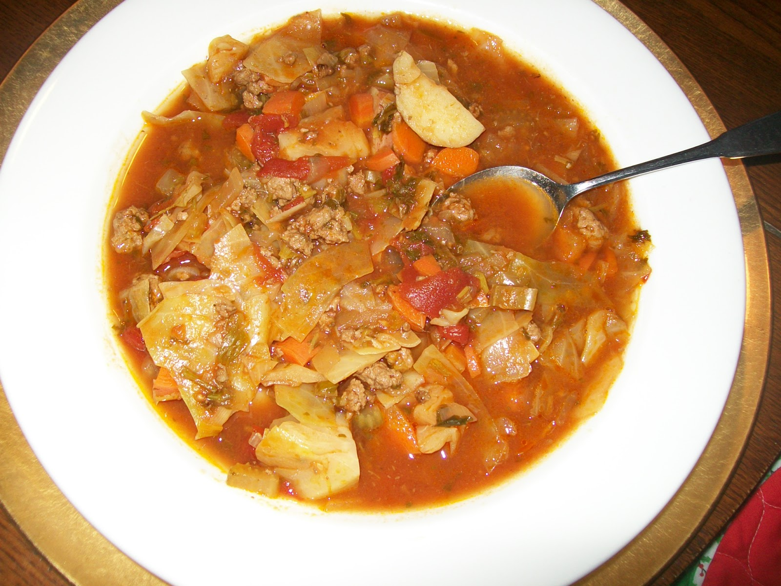 Cabbage-Vegetable Soup Recipes — Dishmaps