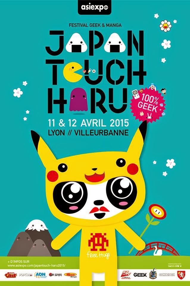 Actu Jeux Video, Actu Manga, Festival, Japan Touch, Japan Touch Haru 2015,