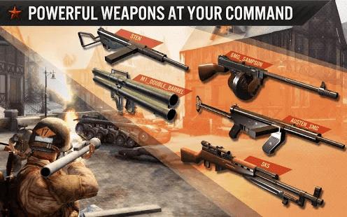 Fronline Commando WW2 mod apk data