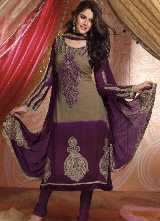 Anarkali-Frocks-with-Churidar