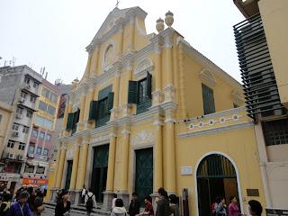 La iglesia de Santo Domingo de Macao