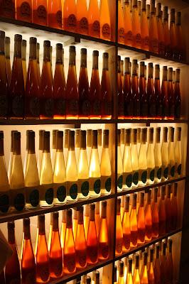 bottles of honey