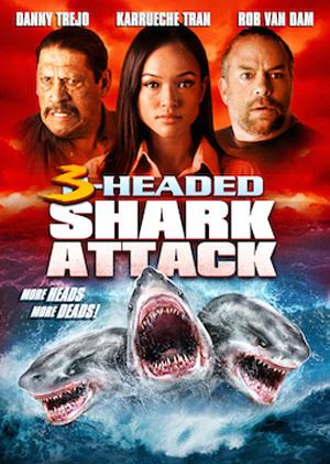 Assistir O Ataque do Tubarão de 3 Cabeças Dublado Online