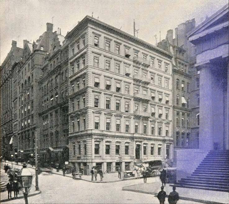 New York - History - Geschichte: Manhattan Trust Company Building