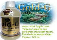 jelly gamat gold-G ekstrak gamat