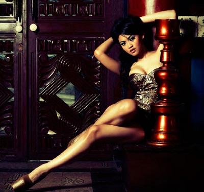 Fotomodel Putri Penelope